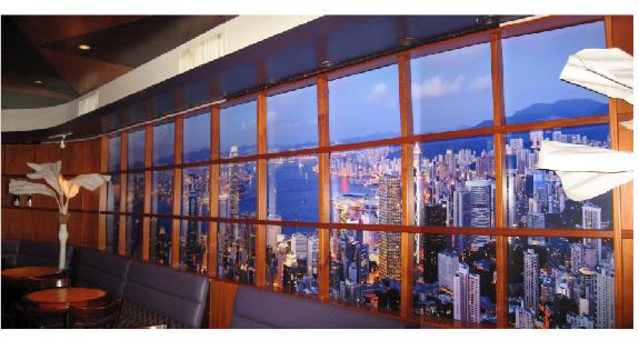 Backlit wall mural beyonddigitalprint custom window for Digital mural printing
