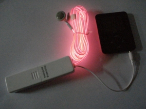 Light Up / Flashing Earphones